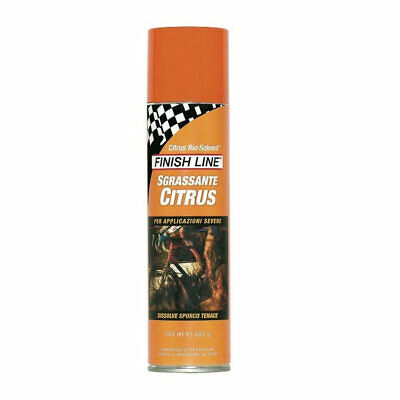 Degreasing Strong Citrus Biosolvent Spray 355ml FIN13 FINISH LINE Cleaning • 17.28£