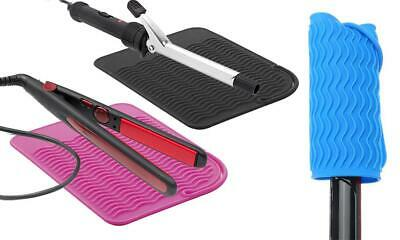 £1.99 • Buy Heat Resistant Silicone Travel Mat -- Black