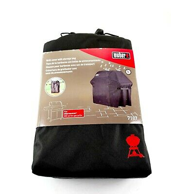 $ CDN75.33 • Buy Weber Grill Cover With Storage Bag 7107 Fits Genesis 300 Series Gas Grills