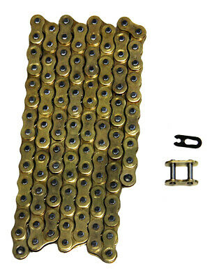 AU35.33 • Buy Gold 520x120 Non O-Ring Drive Chain ATV Motorcycle MX 520 Pitch 120 Links