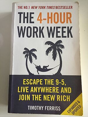 AU25.20 • Buy The 4-Hour Work Week By Timothy Ferriss PB 2011 Expended Updated - Escape 9-5