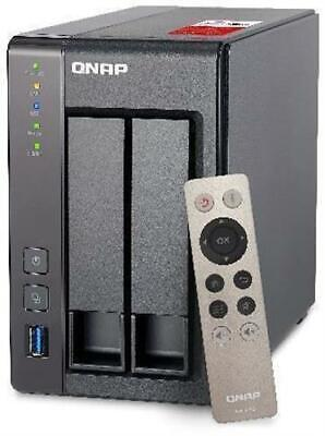 QNAP TS-251+-2G 6TB 2-Bay NAS With 2 X 3TB Seagate IronWolf Drives • 462.97£