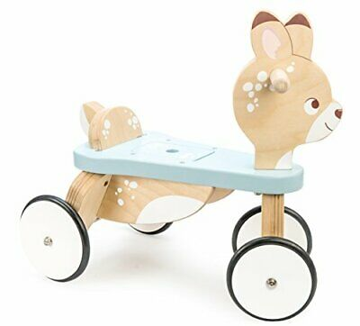 Le Toy Van - Petilou Wooden Ride On Deer Push Along Toy For Toddlers | Suitab... • 130.06£