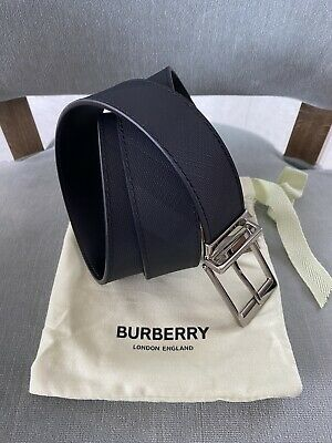 Burberry $395 Clarke Checked Belt Size 90/36 US . New ! • 160.82£