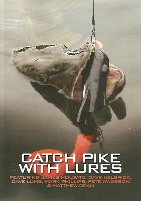 £12.45 • Buy HOLGATE JAMES PREDATOR FISHING BOOK CATCH PIKE WITH LURES Paperback NEW
