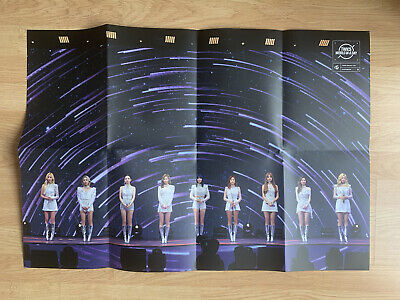 £4.95 • Buy Kpop Twice Official World In A Day Photobook Poster
