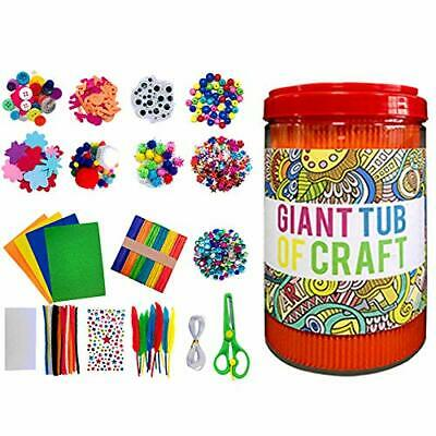 Keyohome Arts And Crafts Supplies For Kids, All In One DIY Toddler Crafts Box • 22.99£