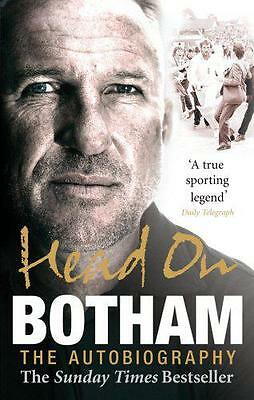 Head On - Ian Botham: The Autobiography By Ian Botham, NEW Book, FREE & FAST Del • 10.79£