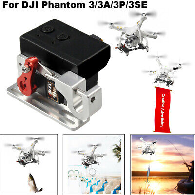 AU88.89 • Buy Payload Delivery Device For DJI Phantom 3/ 3Pro , Payload Release, Drone Fishing