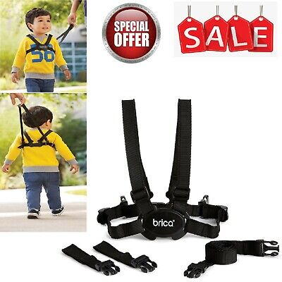 Baby, Child & Toddler Walking Harness & Safety Reins Adjustable Travel Lead NEW • 6.69£