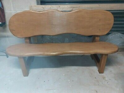 £449 • Buy 3 Seater Solid Oak Garden Bench. Due To The Weight Item Needs Collecting.
