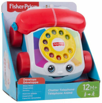 £8.99 • Buy Fisher-Price Chatter Telephone Pull Along Toddler Toy Phone   - BRAND NEW