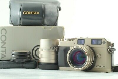 $ CDN1087.48 • Buy 【NEAR MINT In Box】Contax G1 Green Label Rangefinder Camera 45mm 90mm 2Lens JAPAN