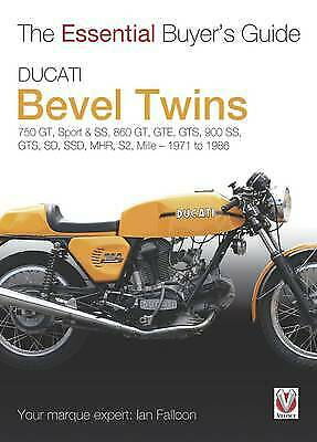 The Essential Buyers Guide Ducati Bevel Twins, Falloon, Ian,  Paperback • 10.50£