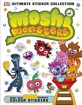 Moshi Monsters Ultimate Sticker Collection By DK, Good Used Book (Paperback) FRE • 2.49£