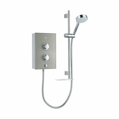 £149.99 • Buy Mira Manual Electric Shower Decor Warm With Riser Rail 9.5kW Silver