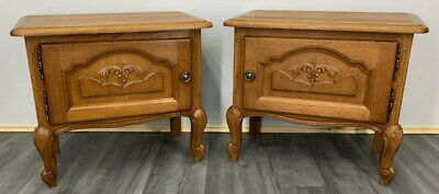£199 • Buy Amazing Pair French  Bedside Tables Cupboards Cabinets Louis XVI