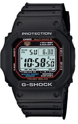 $ CDN131.25 • Buy Casio GWM-5610-1 G-Shock Tough Solar Black Resin Band Men's Watch