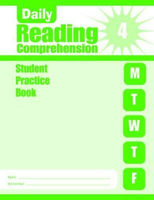 £9.26 • Buy Daily Reading Comprehension, Grade 4 Sb By Evan-Moor Educational Publishers (Eng