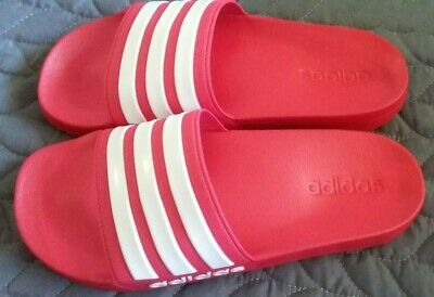 AU25 • Buy Adidas Unisex Red Slides Size 8