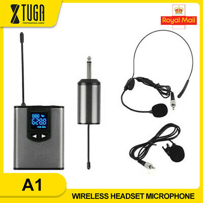New Wireless Headset Microphone System For IPhone DSLR Camera YouTube Vlog • 31.02£