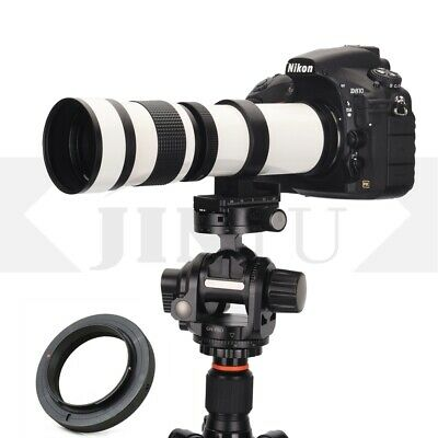 420-800mm F/8.3-16 Telephoto Lens For Canon EOS 650D 750D 70D 60D 6D 7DII Camera • 79.98£