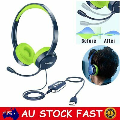 AU38.99 • Buy Mpow 3.5mm USB Gaming Headphones Headset Noise Cancelling For Computer PC Phones