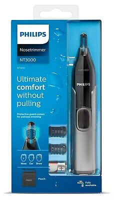AU73.48 • Buy PHILIPS NT3650/16 NOSE, EAR & EYEBROW TRIMMER-Ultimate Comfort, Without Pulling