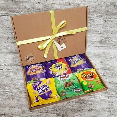 Mini Eggs Easter Special Aero Reeses Oreo Daim Creme Eggs Chocolate Gift Box • 19.99£