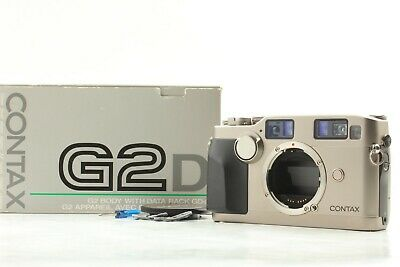 $ CDN1392.59 • Buy 【NEAR MINT W/ BOX】 CONTAX G2 D G2D 35mm Rangefinder Film Camera Body From Japan