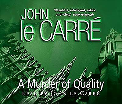 £4.61 • Buy A Murder Of Quality, Le Carr�, John, Used; Good CD