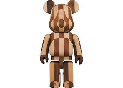 $2299 • Buy Bearbrick Medicom Karimoku LONGITUDINAL CHESS 400%