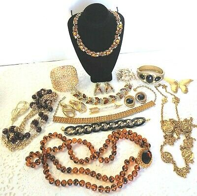 $ CDN189.34 • Buy Vintage Signed Rhinestone Jewelry Lot Hattie Carnegie Star Lisner ++ U12