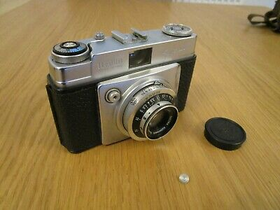 Ilford Sportsman 35mm Vintage Camera With Carry Case • 4£