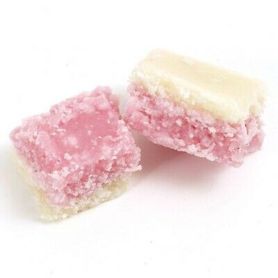 Coconut Ice Sweets 250g Pick N Mix Retro Treats Party  • 2.75£