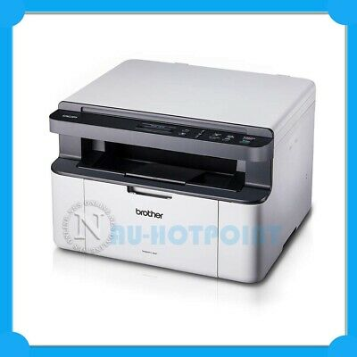 AU198 • Buy *opened Box* Brother DCP-1510 Copy/Scan 3-in-1 Mono Laser USB Printer /w TN1070