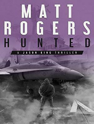 Hunted: A Jason King Thriller By Matt Rogers (English) Compact Disc Book Free Sh • 26.50£
