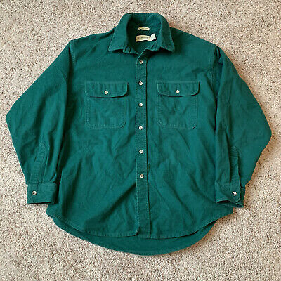 $22 • Buy Vintage Made In USA Chamois Shirt Size Large