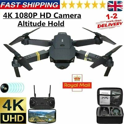 AU49.88 • Buy 4K HD E58 Drone X Pro Aerial Camera WIFI FPV Foldable Mini Selfie RC Quadcopter/