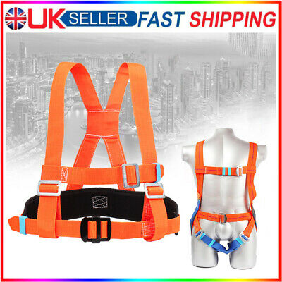 £22.98 • Buy 5 Point Fall Arrest Safety Harness Scaffold Construction Work Protection Harness