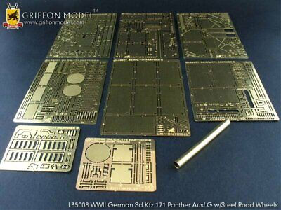 Griffon 1/35 #L35008 Panther Ausf.G Steel Road Wheels Ver Detail Up For Dragon • 29.92£
