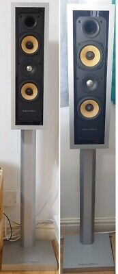 $ CDN797.17 • Buy Bowers And Wilkins FPM4 B & W Floorstanding Speakers HiFi Nautilus Stands