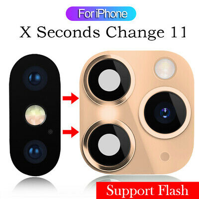 £3.31 • Buy For IPhone X To IPhone 11 Pro Max  Fake Camera Lens Sticker Seconds Change~UK