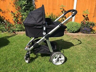 ICandy Apple 2 Pear Black Travel System Double Seat Stroller • 75£