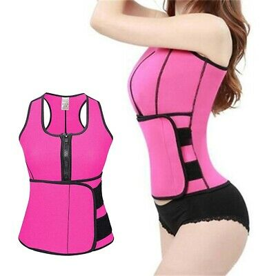 $ CDN16.69 • Buy 1PC Corset Vest Waist Trainer Belly Control Slimming Shapewear For W