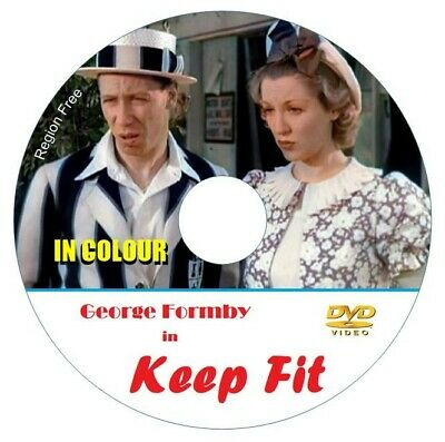 £5.99 • Buy George Formby In KEEP FIT In COLOUR DVD, Yes In Colour.