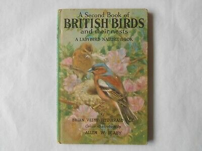 Ladybird Second Book Of British Birds & Their Nests & Eggs With Dust Jacket  • 3.20£