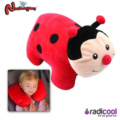 Necknapperz Dotty The Ladybug Children's Soft Toy Converts To Neck Pillow NEW! • 10.83£