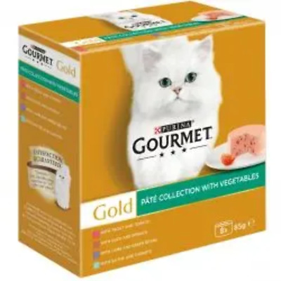 Gourmet Gold Pate With Vegetables 8x85g • 3.75£