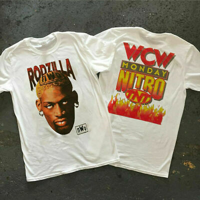 $ CDN31.30 • Buy Best Vintage Rodzilla DennisRodman Nwo Wcw Wwe Men's T Shirt - SIze USA